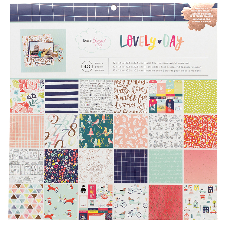 American Crafts Dear Lizzy Lovely Day