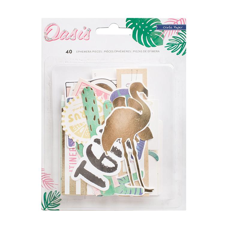 Crate Paper - Oasis - Ephemera