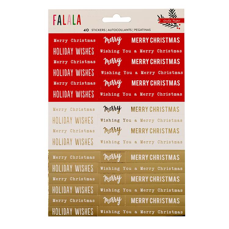 Crate Paper - Falala Phrases
