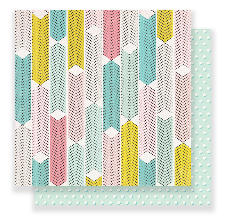 Crate Paper - Carousel 12 x 12 Paper - Dazzle