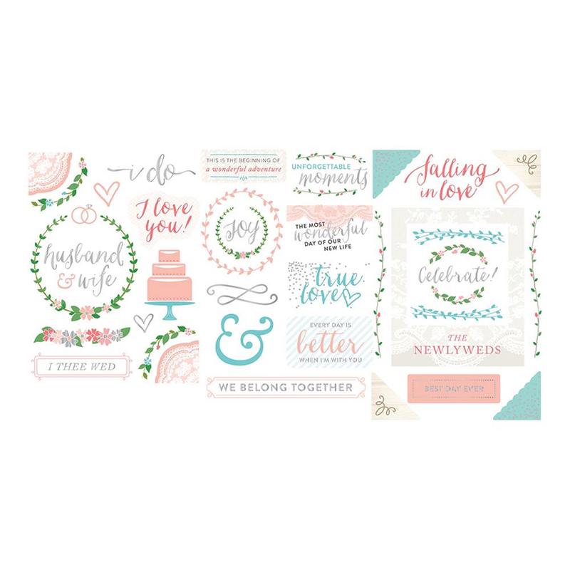 Becky Higgins Project Life Southern Weddings Edition Collection