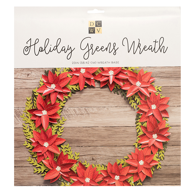 Die Cuts With A View Holiday Greens Wreath