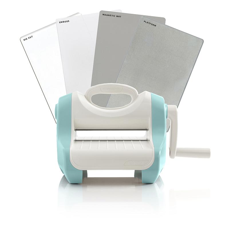 American Crafts We R Memory Keepers Evolution Tool Mini Die Cut Machine Kit