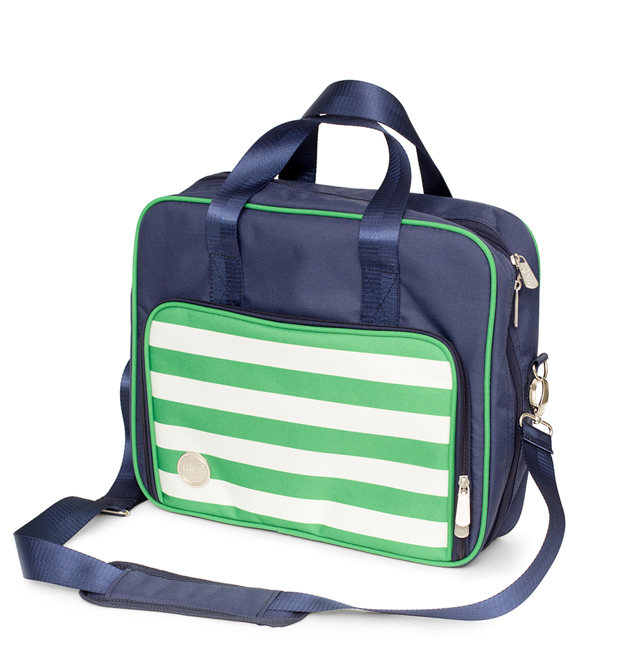 We r memory keepers 360 crafters bag shoulder navy for We r memory keepers craft bag
