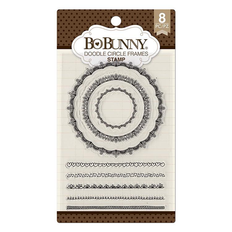 BoBunny Doodle Circle Frames Stamps