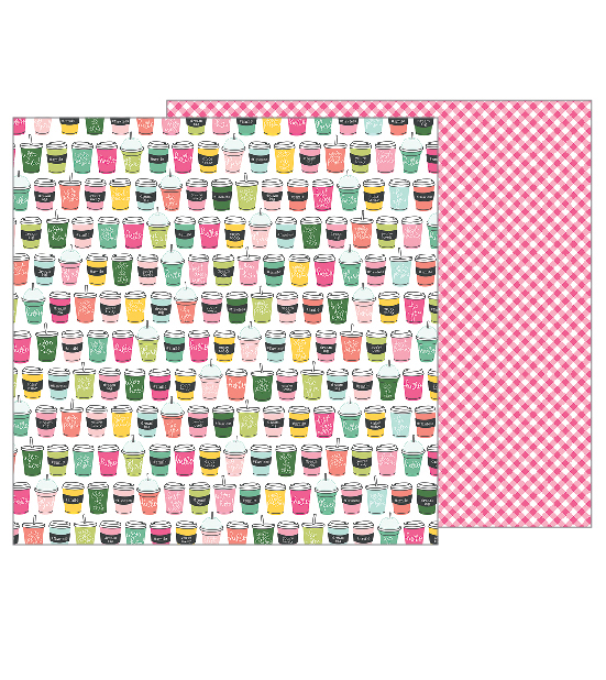 Pebbles Girl Squad Collection (Soda Shop) 12x12 in