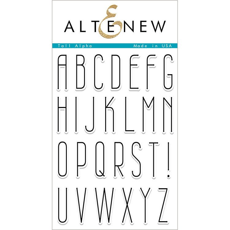 Altenew Tall Alpha