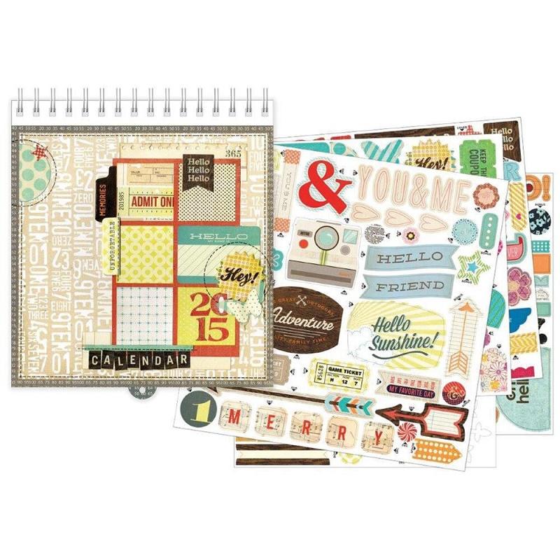 basicgrey 2015 calendar kit
