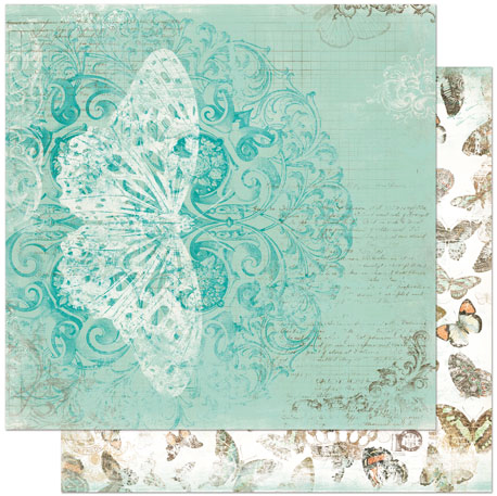 Bunny - Gabrielle Collection - 12 x 12 Double Sided Paper - Elegance