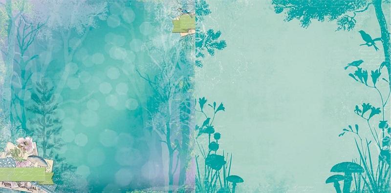 Bo Bunny Enchanted Garden Enchanted Garden Paper