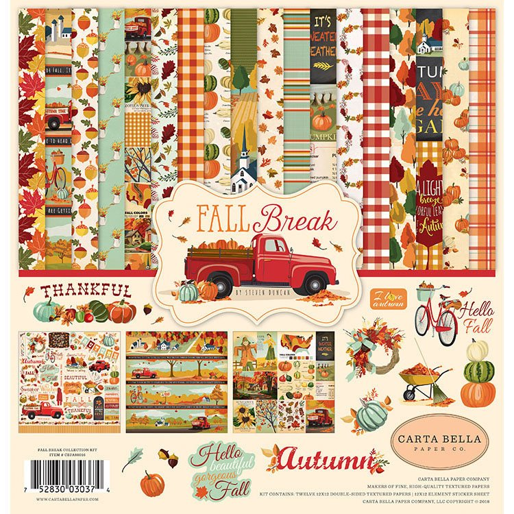 Carta Bella Paper Fall Break Collection Kit