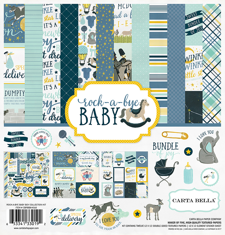 Baby Scrapbooks Papercrafting Supplies