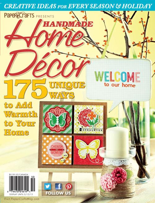 Paper Crafts Handmade Home Decor