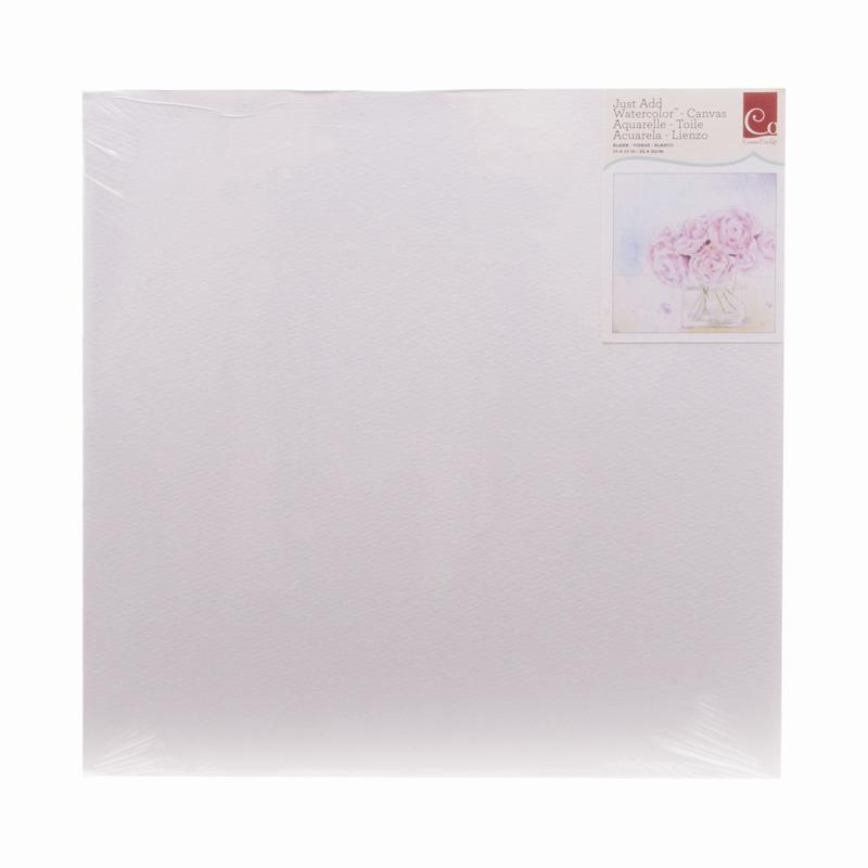 cosmo cricket watercolor blank 10 x 10 canvas