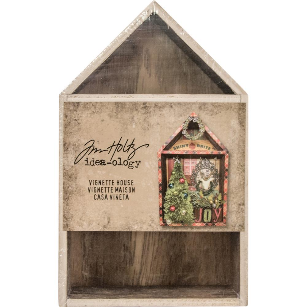 Advantus Tim Holtz Ideaology Vignette Box House