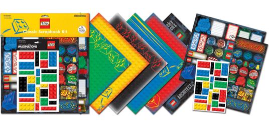 Creative Imaginations Classic Lego Scrapbook Kit