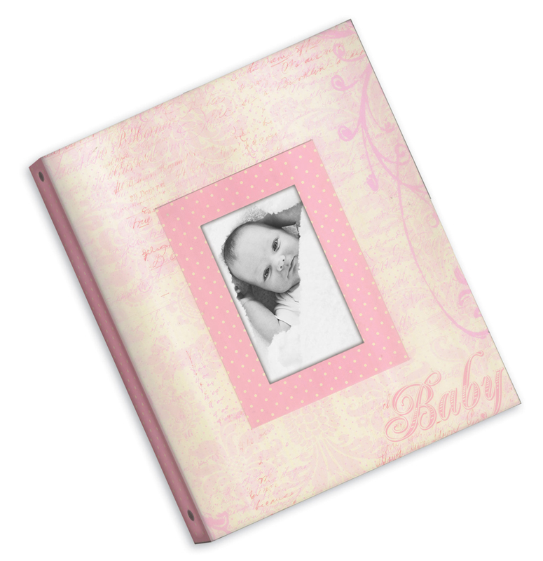 Narratives By Karen Russell 3 Ring Binder Memory Book Baby Girl