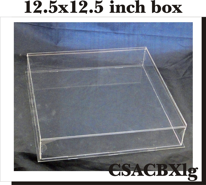 Clear Scraps - DIY Acrylic Box - Keepsake Box - Large - 12 x 12  sc 1 st  Scrapbook.com & Clear Scraps Large 12 x 12 DIY Acrylic Keepsake Box Aboutintivar.Com
