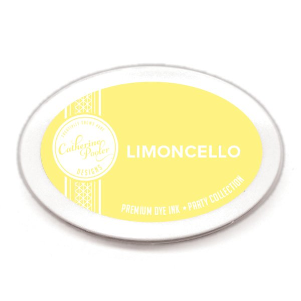 Catherine Pooler Designs - Party Collection - Premium Dye Ink Pads - Limoncello