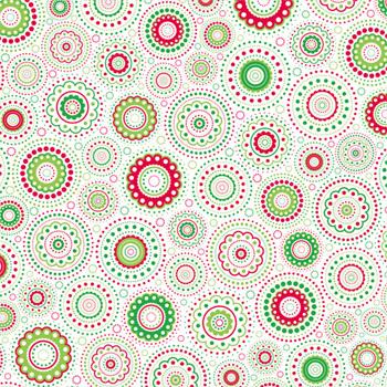 doodlebug design patterned paper christmas collection kaleidoscope