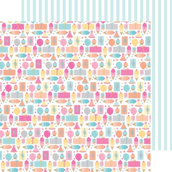 Doodlebug Design Sugar Shoppe Birthday Girl Paper