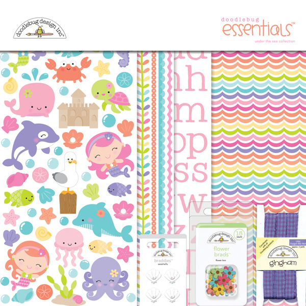 Doodlebug Design Under The Sea Collection Kit