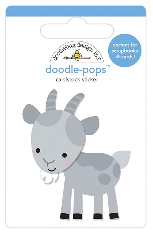taglia unica DOODLEBUG DESIGN INC Doodle-Pops 3D STCKR Farmer Joe Multicolore