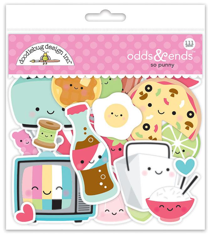 b8513091fe4 Doodlebug Design - So Punny Collection - Odds and Ends - Die Cut ...