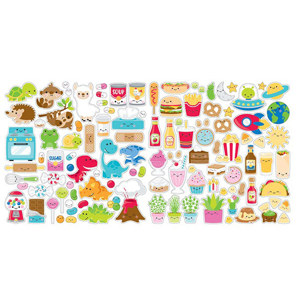 28a5efaa7d2 Doodlebug Design - So Much Pun Collection - Odds and Ends - Die Cut  Cardstock Pieces