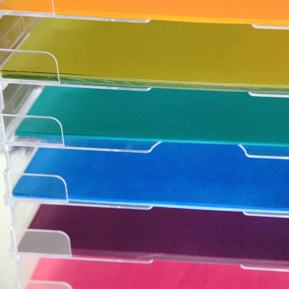 Umbrella Crafts Stackable Paper Trays