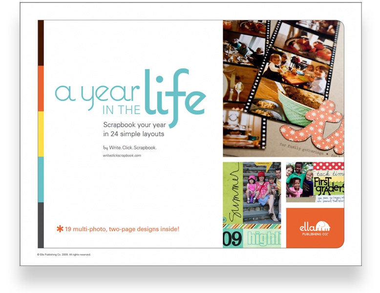 ella publishing a year in the life scrapbook your year in 24