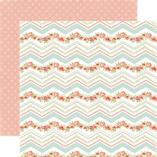 carta bella rustic elegance chevron paper
