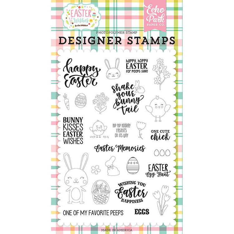 Echo Park Paper Easter Wishes Stamp Set