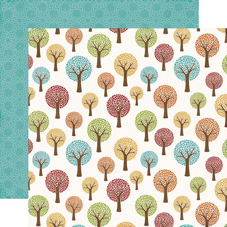 Echo Park I Love Family Tree Paper