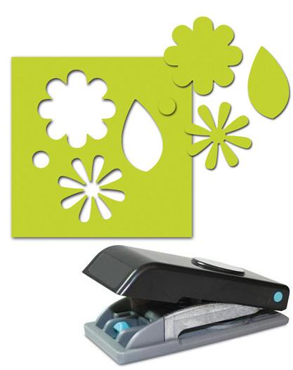 ek success paper shapers slim profile large punch flowers and leaves