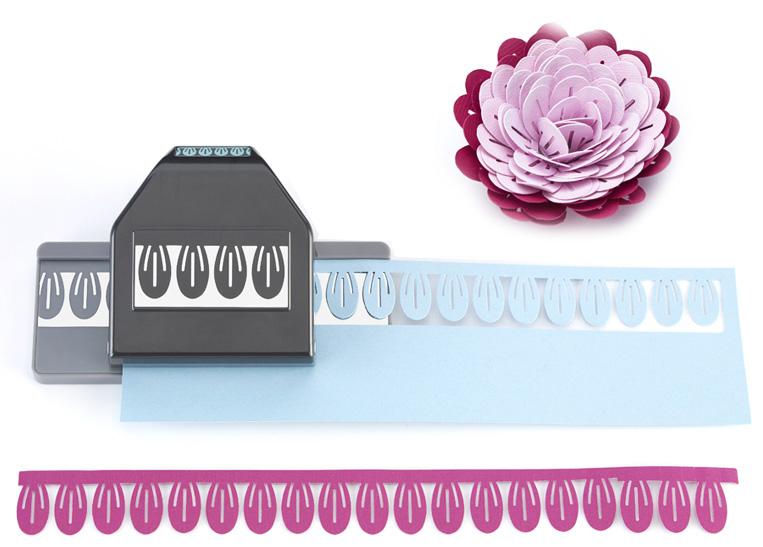 EK Success Paper Shapers Slim Profile Large Edger Punch