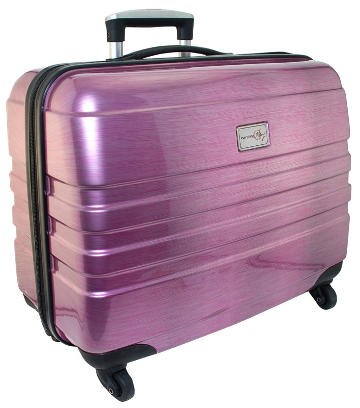 Everything Mary Pink Hard Side Rolling Sewing Case Beauteous Sewing Machine Case