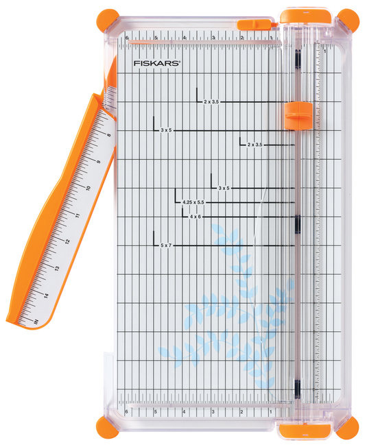 Fiskars - 12 Inch Premium Cut-Line Portable Trimmer - Blade Style I