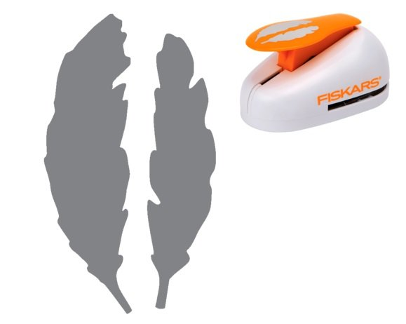 Fiskars Feathers Extra Large Lever Punch
