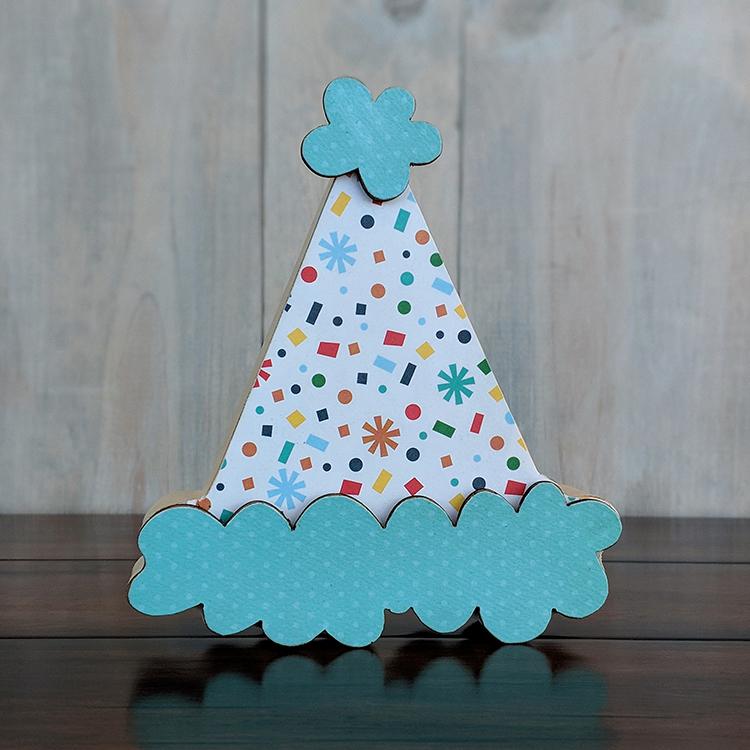 Foundations Decor Birthday Hat O Home Wood Crafts