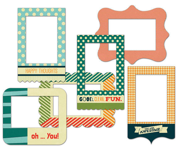 Fancy Pants Designs Be Different Patterned Photo Frames