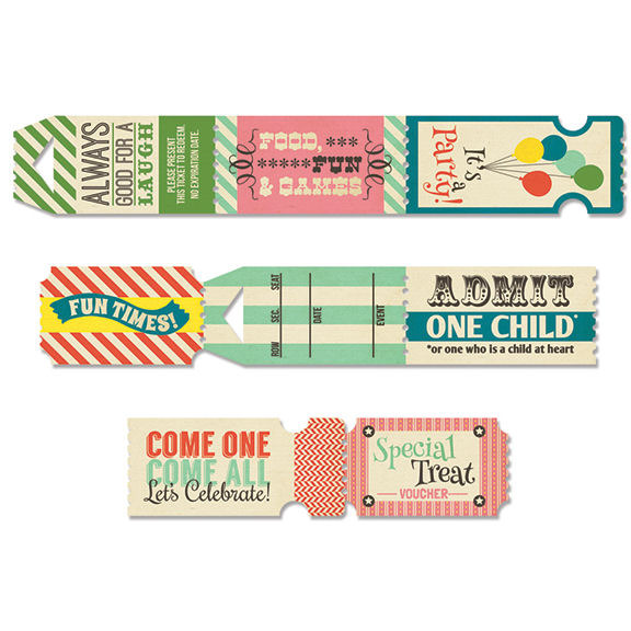fancy pants designs everyday circus ticket roll