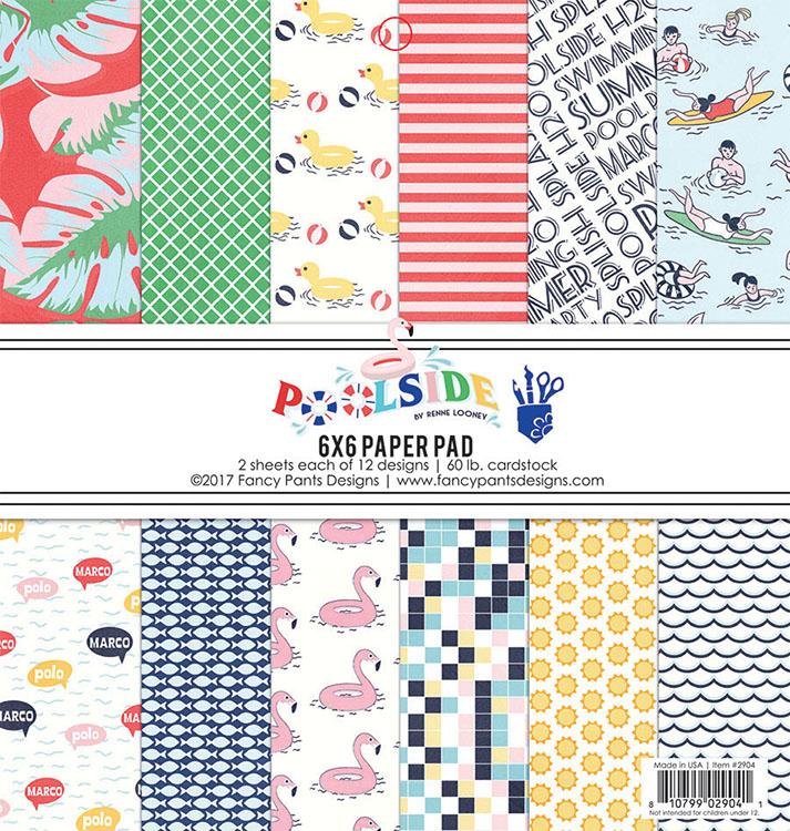 Fancy Pants Designs Poolside 6x6 Paper Pad