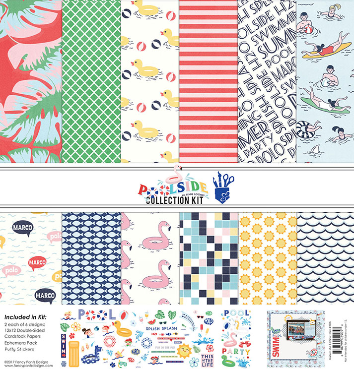Fancy Pants Designs Poolside 12x12 Collection Kit