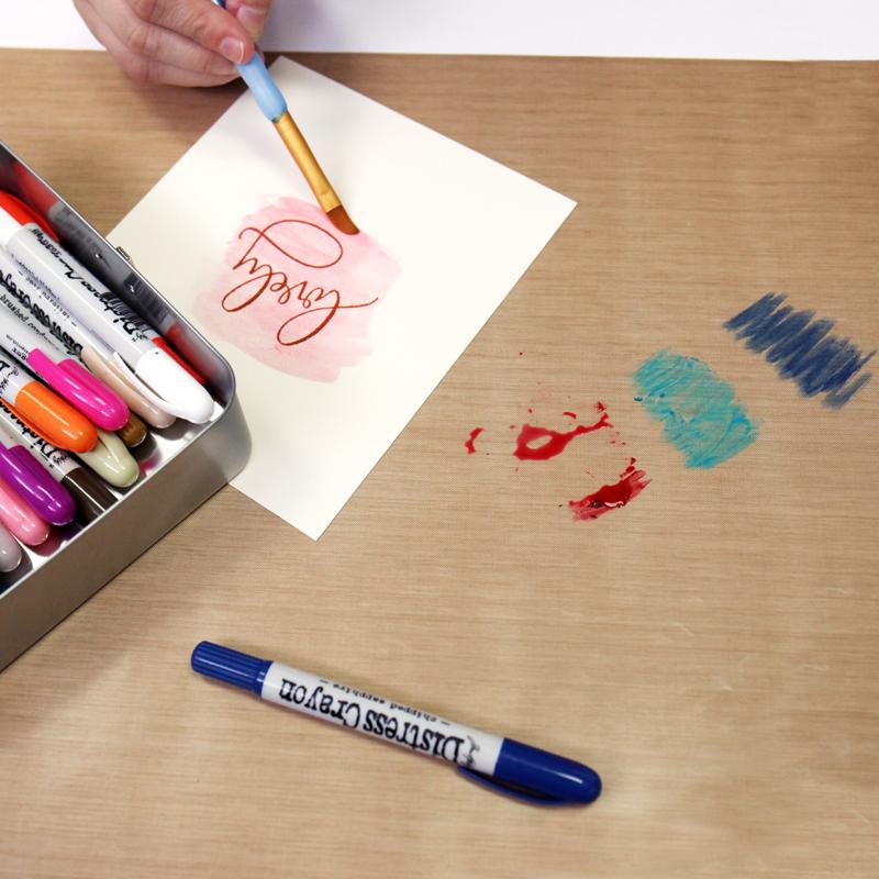 Ranger ink inkssentials 15 x 18 reusable non stick craft sheet for Non stick craft sheet large