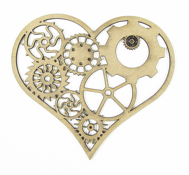 Chipboard Shapes Ideas ~ Grapevine designs and studio gear heart chipboard shapes