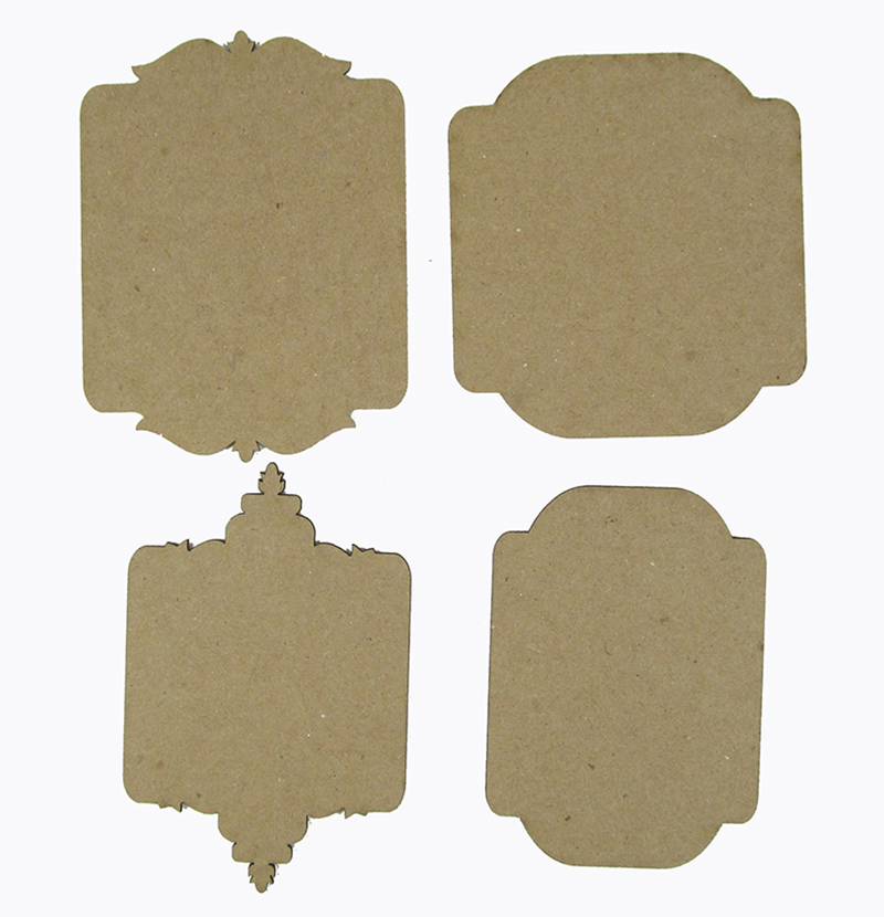 Chipboard Shapes Ideas ~ Grapevine designs and studio fancy tags chipboard shapes