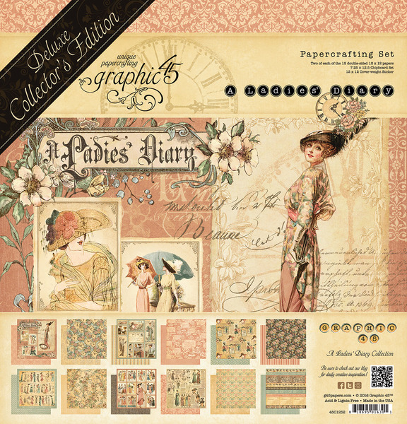 Graphic 45 Ladies Diary Deluxe Collectors Edition