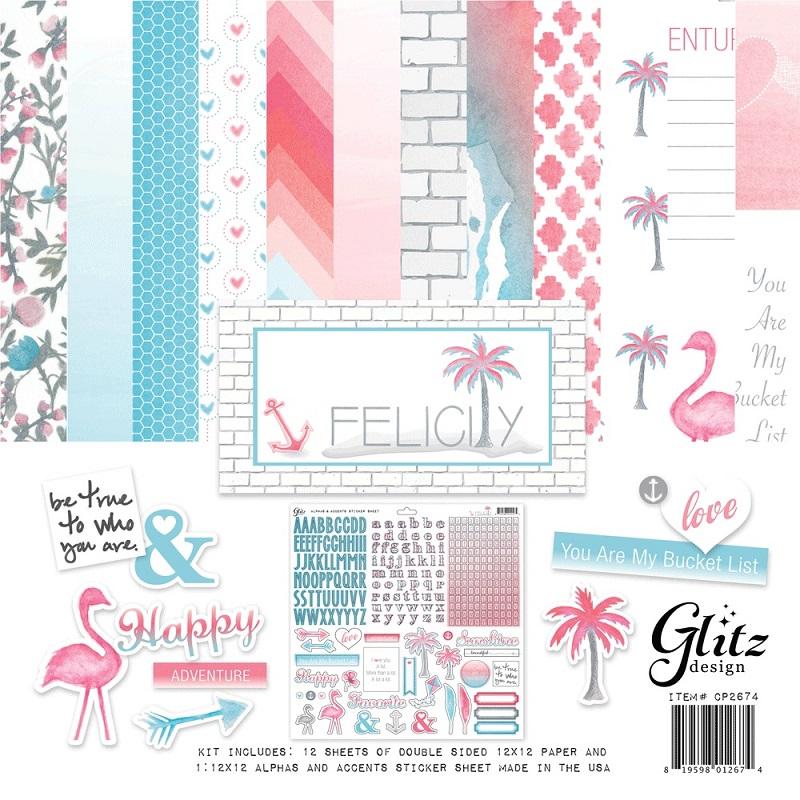 Felicity Design glitz design felicity 12 x 12 collection pack