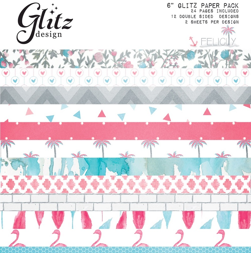 Felicity Design glitz design felicity 6 x 6 paper pad